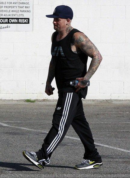 Joel & Benji Madden - gym - West Hollywood - 12th march 2012