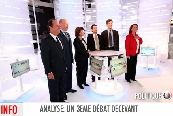 ANALYSE: UN DERNIER DBAT DECEVANT 