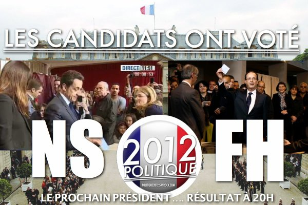 VIDEO: NICOLAS SARKOZY ET FRAN�OIS HOLLANDE ONT VOT� !