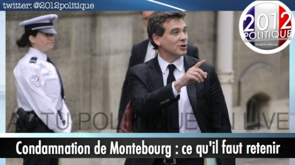 Condamnation de Montebourg : ce qu'il faut retenir