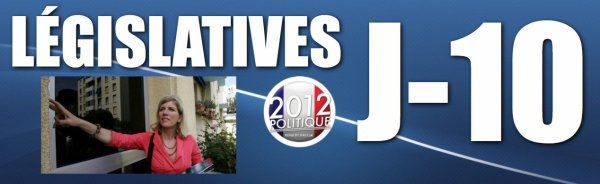 LEGISLATIVES 2012: J-10 Le PS retire son investiture  Andrieux, renvoye en correctionnelle