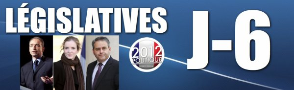 LEGISLATIVES 2012: J-6 Cop, Bertrand et NKM en danger dans leurs circonscriptions